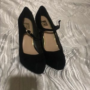 Dolce Vita Shoes - Retro velvet closed toe high heels